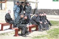 Тульские журналисты сыграли в футбол с зэками, Фото: 42