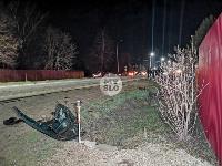 На выезде из Тулы BMW влетел в фуру: один человек погиб, Фото: 17