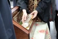 Сотрудники ОМОН поклонились мощам святого великомученика Георгия Победоносца, Фото: 22