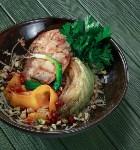 Куриное филе с капустным стейком, Фото: 11