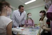 Врио губернатора Тульской области Алексей Дюмин в детской областной больнице, Фото: 11