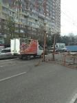 На Зеленстрое грузовик повредил провода, Фото: 2