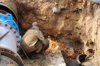 Как ведется монтаж водовода, питающего водой Пролетарский округ Тулы. Фото, Фото: 4