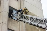 Тульские пожарные ликвидировали условное возгорание в здании суда, Фото: 4
