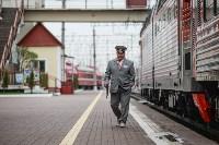 Встреча Валерия Гергиева на Московском вокзале в Туле, Фото: 21