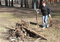 Субботник в Комсомольском парке с Владимиром Груздевым, 11.04.2014, Фото: 28