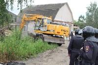 Снос домов в Плеханово. 29 июня 2016, Фото: 6