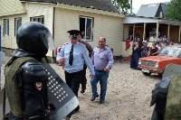 В Плеханово начали сносить дома в цыганском таборе, Фото: 146
