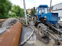Дворы на Красноармейском проспекте затопило нечистотами, Фото: 3