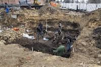 На Крестовоздвиженской площади Тулы обнаружено кладбище 18 века, Фото: 3