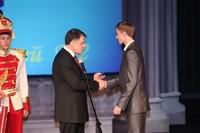 Владимир Груздев поздравил тульских выпускников-медалистов, Фото: 49