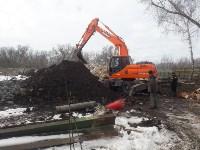 В Туле расчищают территорию для строительства моста через Упу, Фото: 3