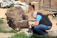 В Плеханово вновь сносят незаконные дома цыган, Фото: 15