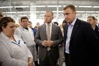 В Богородицке Алексей Дюмин посетил ООО «Завод №423», Фото: 18