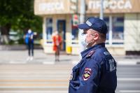 Полицейский рейд в тульских маршрутках: на пассажиров без масок составляют протоколы, Фото: 36