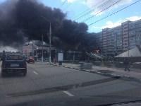 Загорелся недостроенный ТЦ на Красноармейском проспекте, Фото: 7