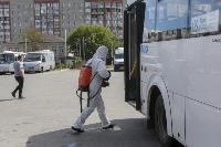 Тульские спасатели продезинфицировали автовокзал «Восточный», Фото: 6