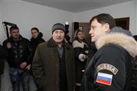 Владимир Груздев в Белевском районе. 17 декабря 2013, Фото: 16