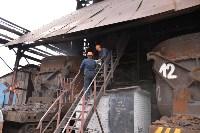 Сотрудники УФСБ сожгли в огромной печи 750 грамм наркотиков, Фото: 3