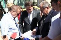 Груздев инспектирует строительство бассейна на Гоголевской. 3.08.2015, Фото: 12