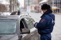 Полицейские проверяют, как туляки соблюдают ограничения карантина , Фото: 52