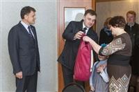 Груздев вручил ключи от социального жилья в Богородицке. 1 апреля 2014, Фото: 1