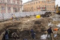 На Крестовоздвиженской площади Тулы обнаружено кладбище 18 века, Фото: 25