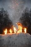 В ЦПКиО сожгли чучело зимы, Фото: 25