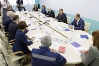 В Узловском районе Алексей Дюмин посетил  ОАО «Пластик», Фото: 17