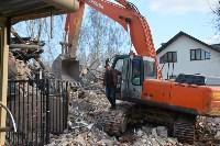 Снос аварийного дома на улице Октябрьской, Фото: 48