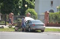 """В Туле водитель """"Пассата"""" въехал в пень, Фото: 6"""