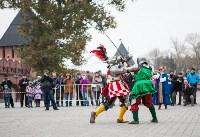 Средневековые маневры в Тульском кремле. 24 октября 2015, Фото: 103