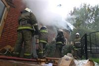 Пожар в доме по ул. Рабочий проезд. 27 сентября, Фото: 14