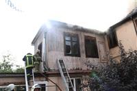 Пожар в доме по ул. Рабочий проезд. 27 сентября, Фото: 12