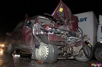 Под Тулой столкнулись грузовой Mercedes и «семерка», Фото: 9