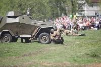 Реконструкция боевых действий. Центральный парк. 9 мая 2015 года, Фото: 23