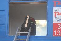 Горящий поезд: учения МЧС 23 сентября , Фото: 6
