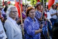 Митинг против пенсионной реформы в Баташевском саду, Фото: 48