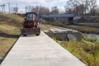 В Туле начали строить пешеходный мост через реку Тулицу, Фото: 2