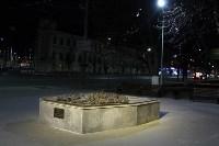 У памятника Петру Первому и скульптуры «Исторический центр города Тулы» появилась подсветка, Фото: 1
