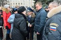Церемония возложения цветов на площади Победы, 23.02.2016, Фото: 22