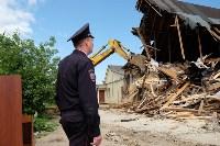 В Плеханово начали сносить дома в цыганском таборе, Фото: 75