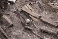 На Крестовоздвиженской площади Тулы обнаружено кладбище 18 века, Фото: 13