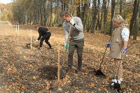 Депутаты Тульской областной Думы высадили яблони в Тургеневской усадьбе, Фото: 3