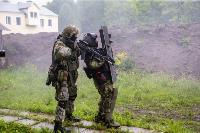 В Туле спецподразделения ОМОН и СОБР провели учения, Фото: 25