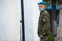 Экспресс-тест на covid-19, маски и социальная дистанция: В Туле первых призывников отправили в армию, Фото: 58