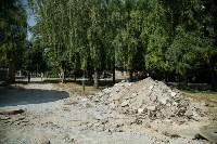 В Туле началось благоустройство скверов и дворов, Фото: 12