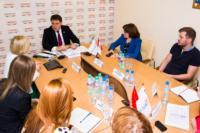 Владимир Груздев пообщался с журналистами «Слободы» и Myslo, Фото: 8
