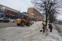 Сотрудники администрации Тулы проинспектировали уборку снега в городе, Фото: 12