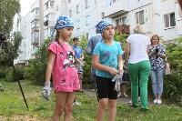 «Экопатруль» благоустроил в Киреевске двор, Фото: 5